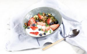 Eiweiß Frühstücks Bowl