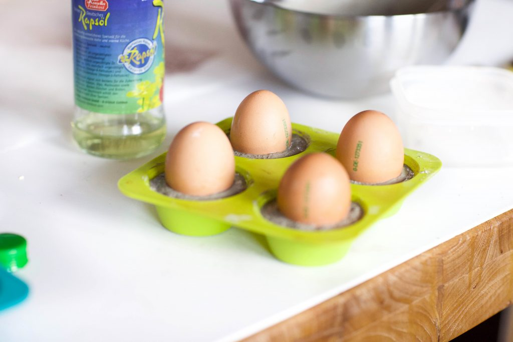 Eierbecher aus Beton - Schritt 3
