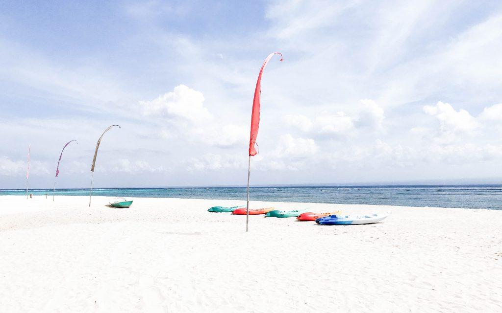 Bali Reisebericht -Strand von Lembongan