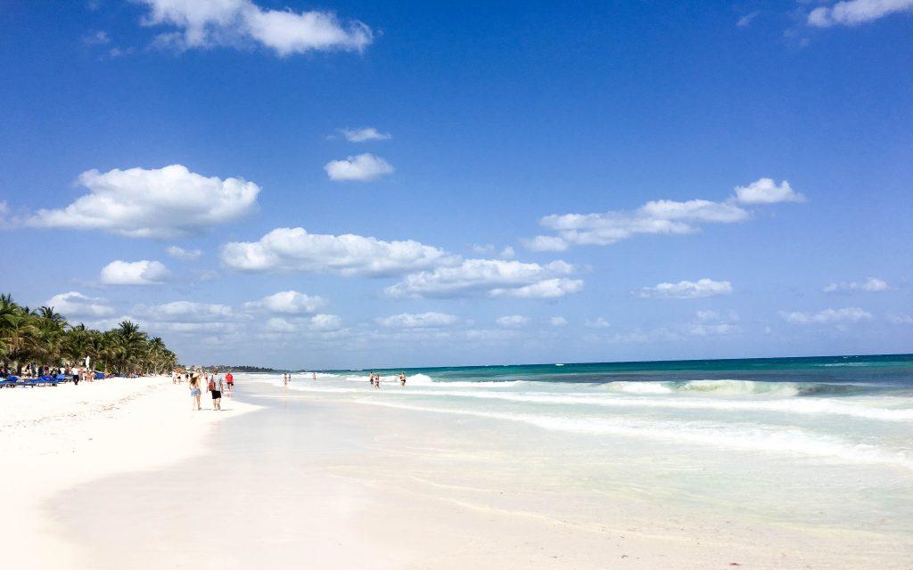Strand von Mexico