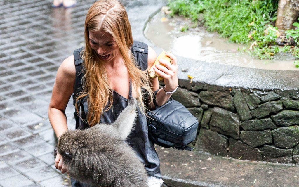 Ausflug in den Monkey Park