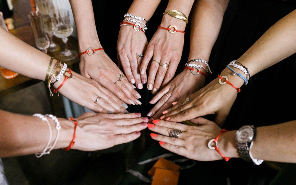 Brautjungfern Armbänder von Merci Maman