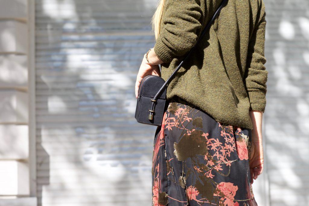 Details Herbstkleid