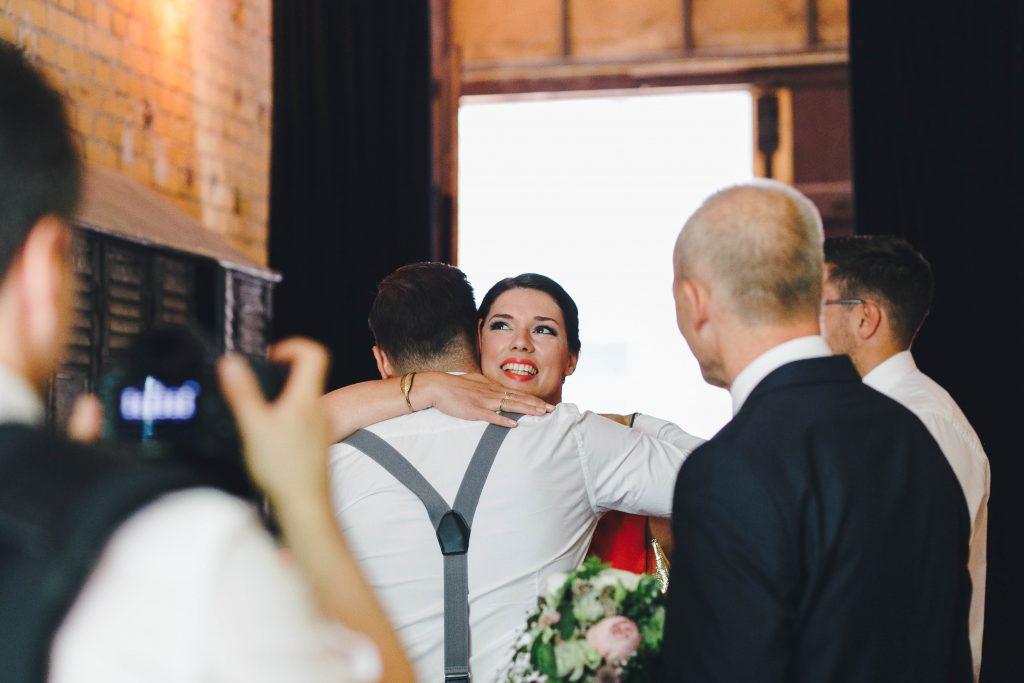 Gäste auf der Hochzeit