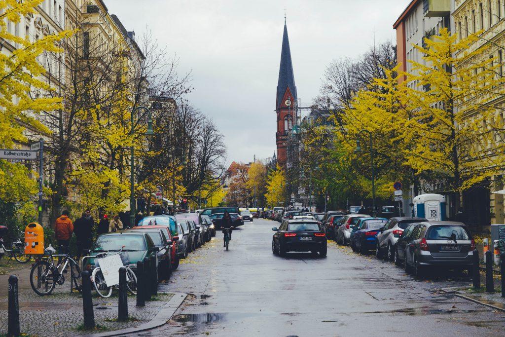 Berlin bei Herbst