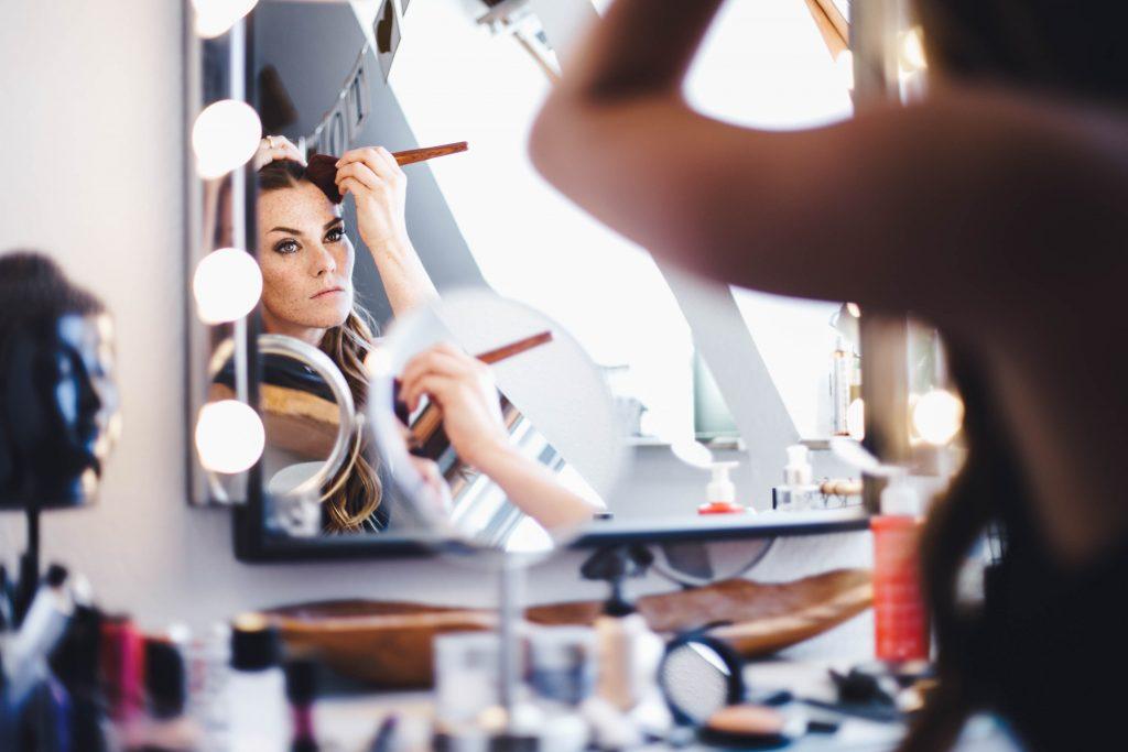 Hochzeits Make-Up selbstgemacht