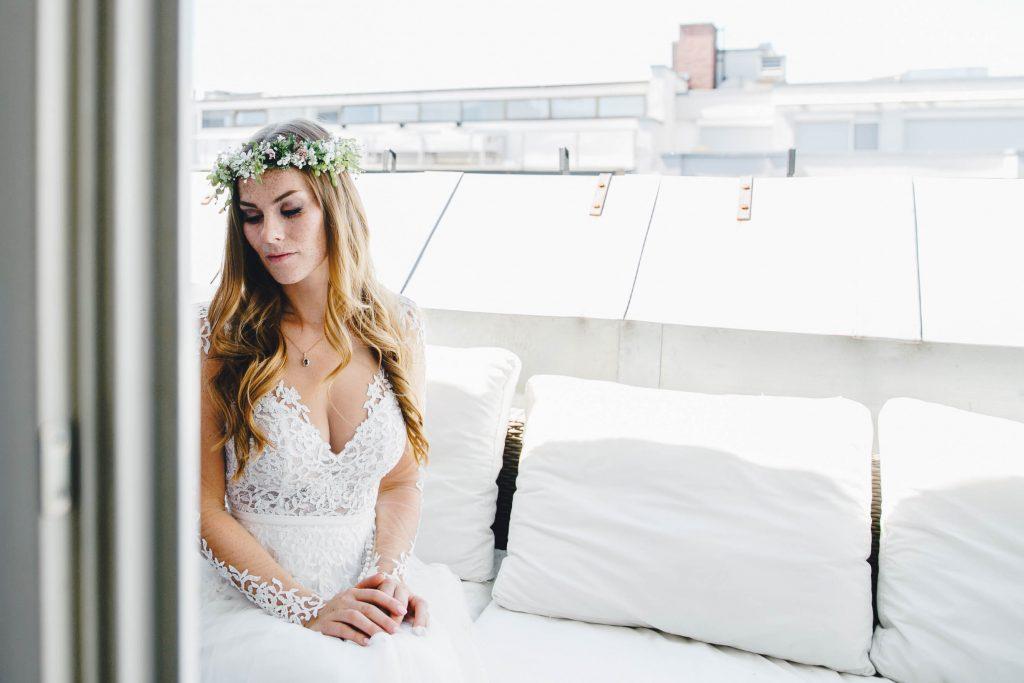 Brautstyling Hochzeit