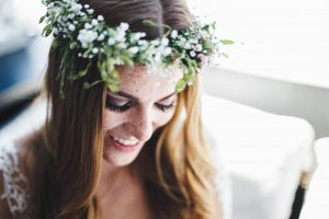 Braut Make-Up zu Hochzeit