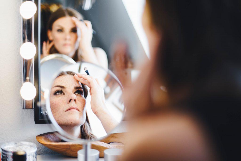 Make-up zur Hochzeit