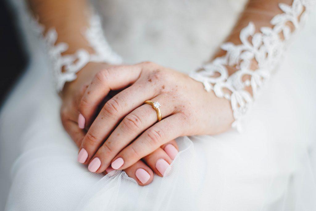 Braut Nägel Hochzeit