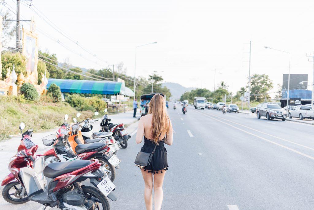 Straßen von Khao Lak