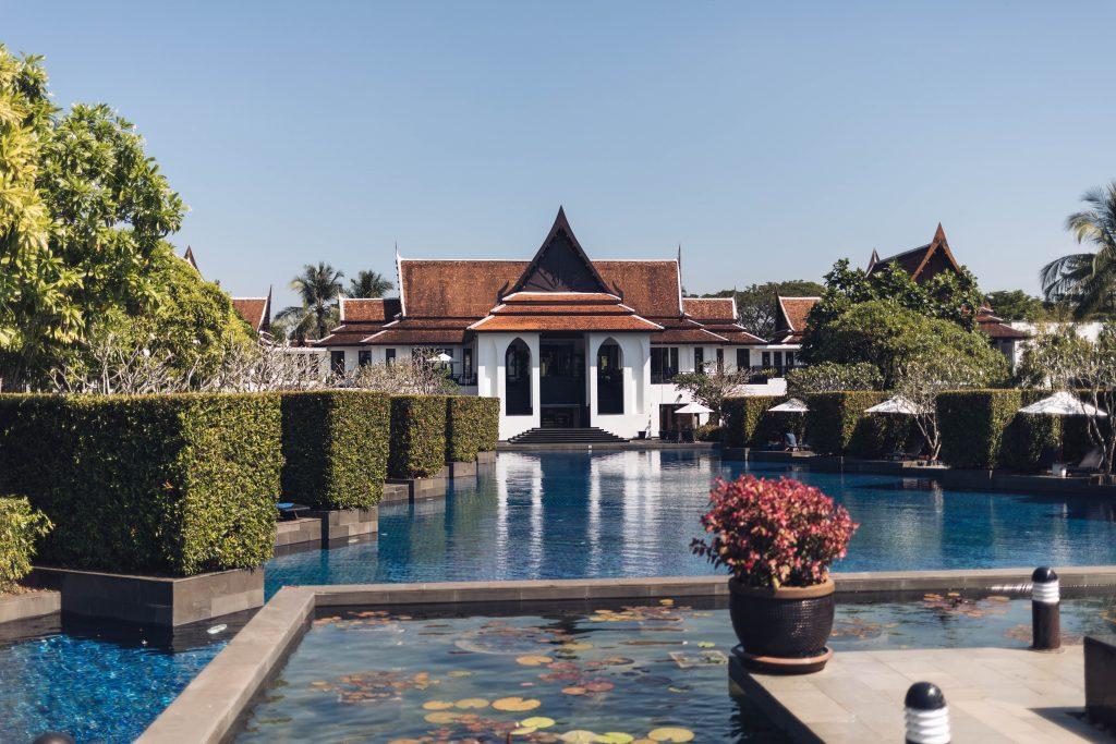 Pool vom JW Marriott Khao Lak Resort & Spa