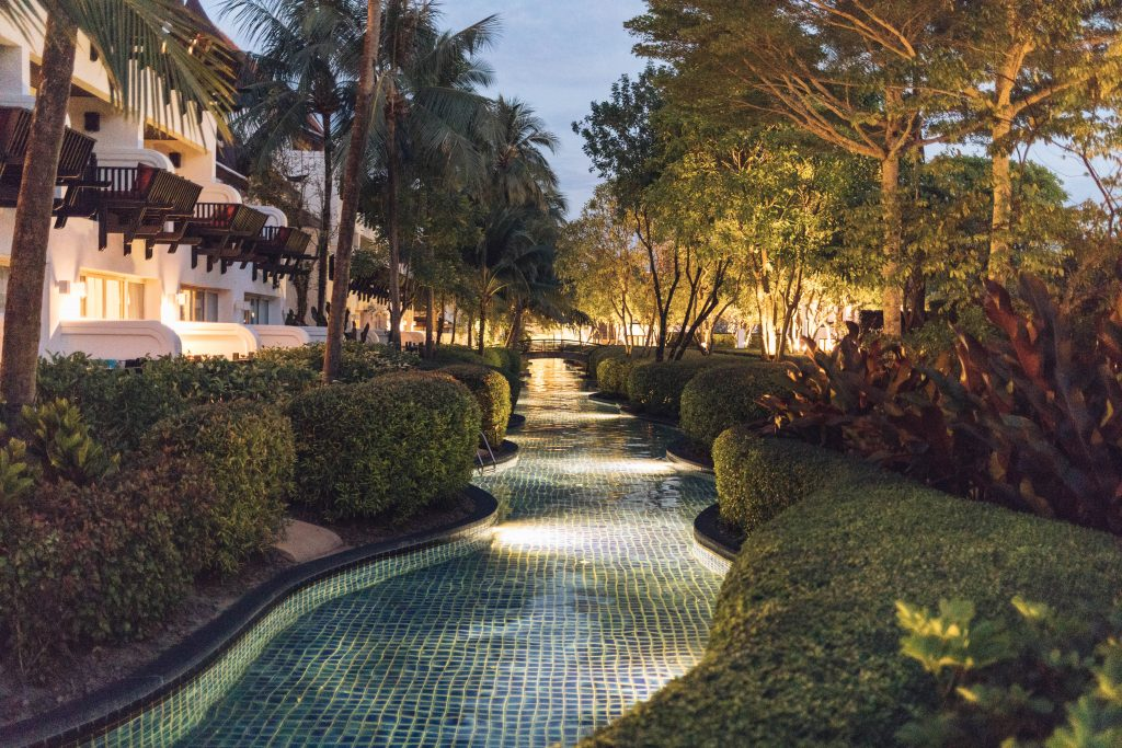 Marriott Hotel Khao Lak Abends