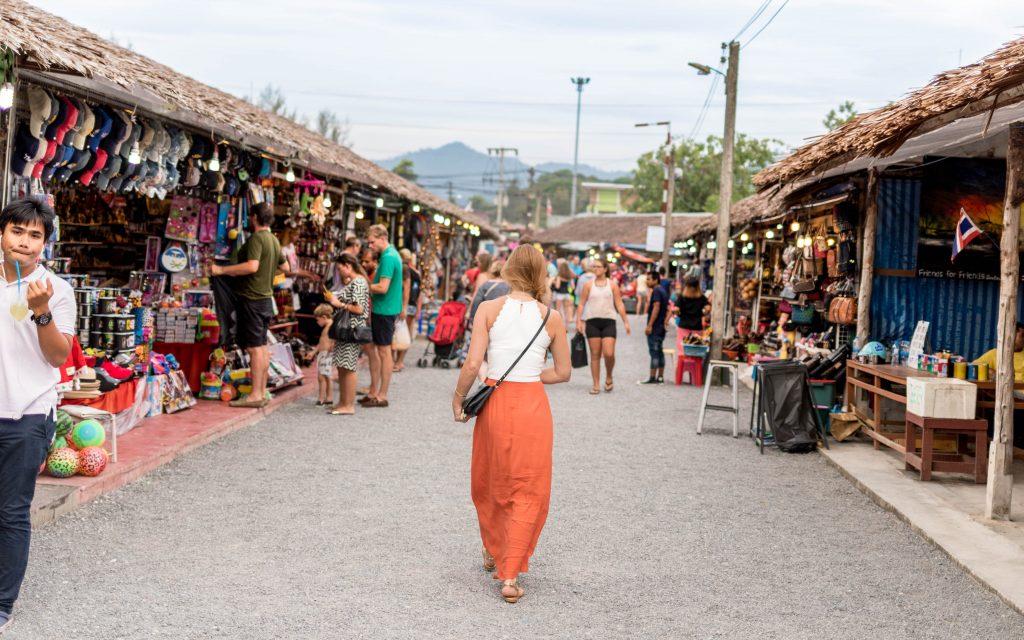 Bang Niang Market Khao Lak