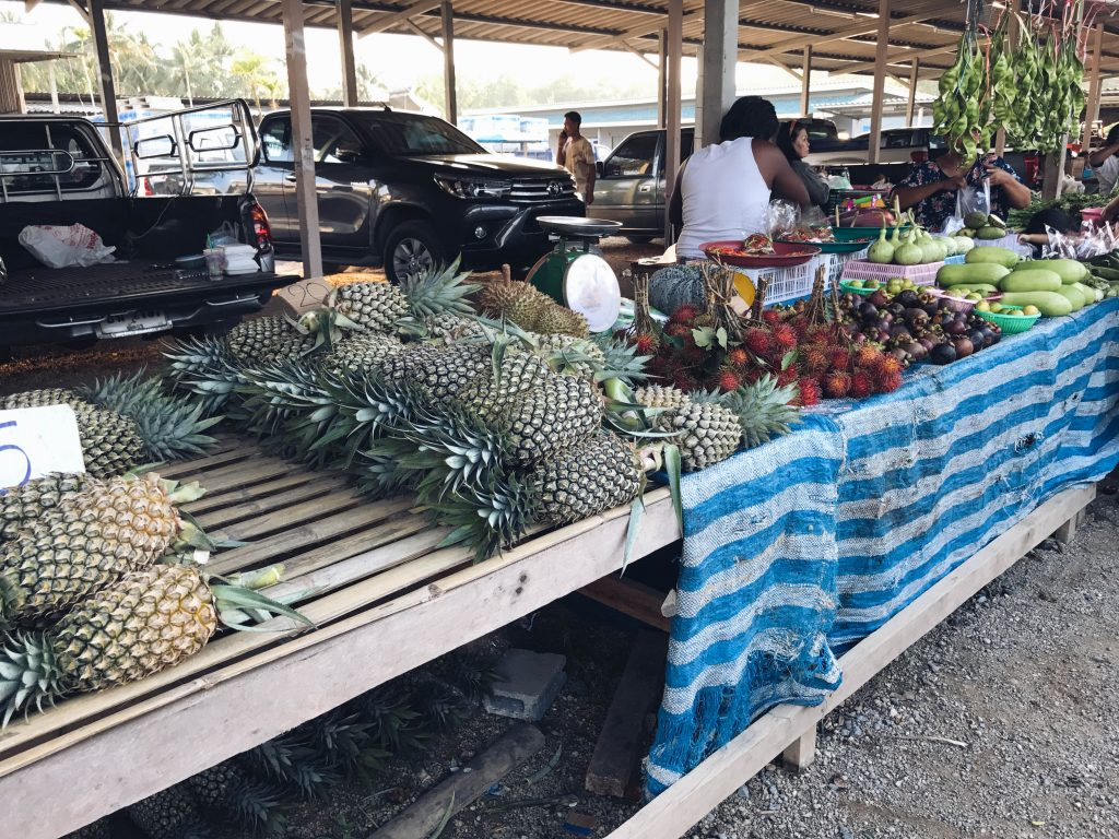 Food Market in Khao Lak