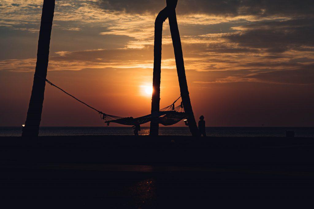 Sonnenuntergang in Khao Lak