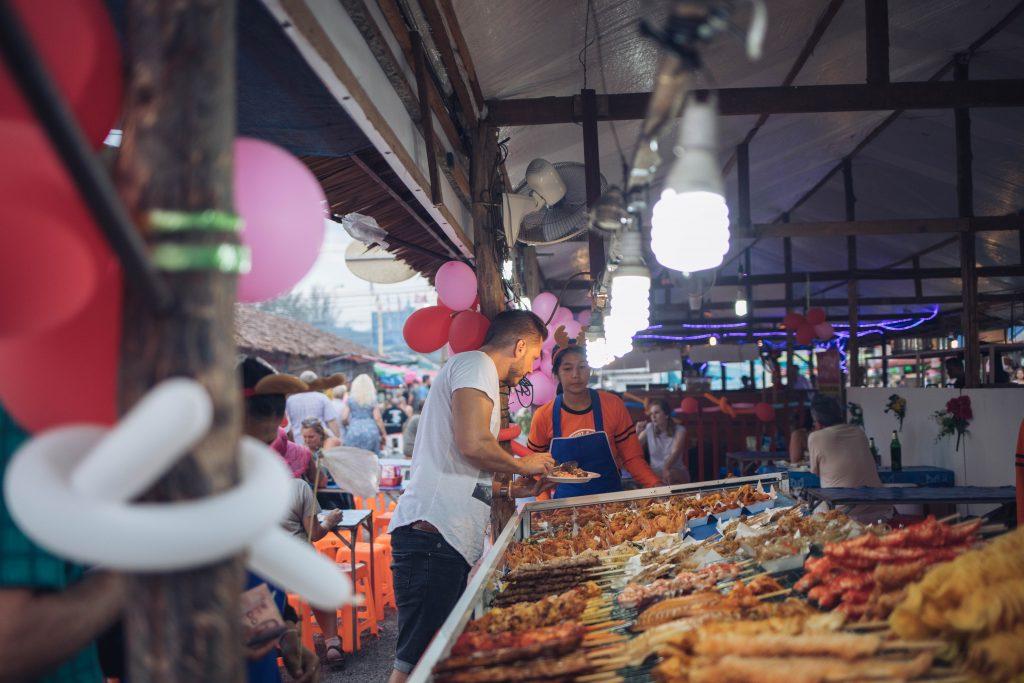 Streetfood Market Khao Lak