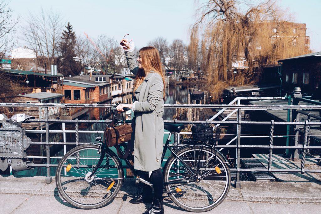 Fahrrad Fahren in Berlin Kreuzberg