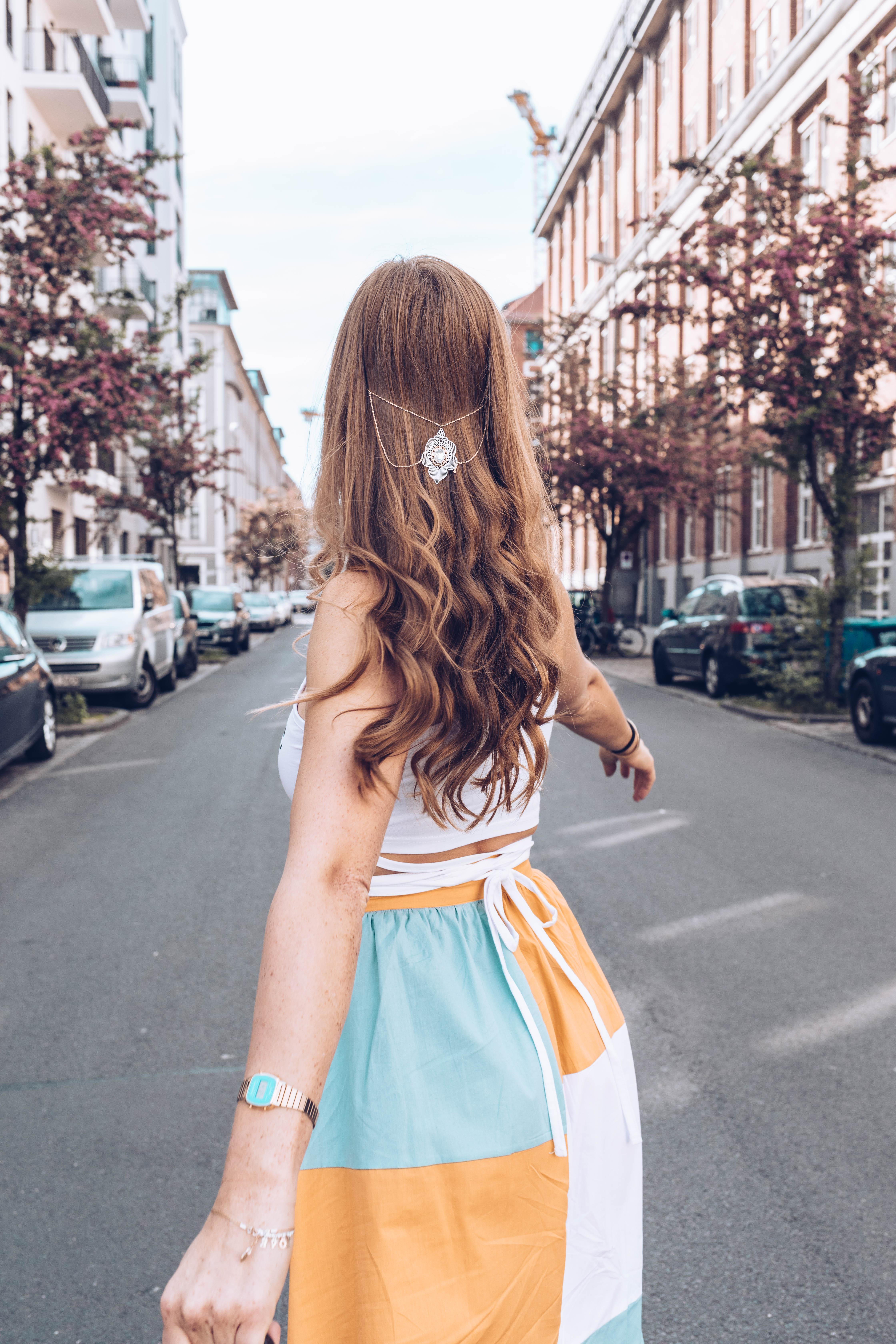 Haarketten als Haarschmuck