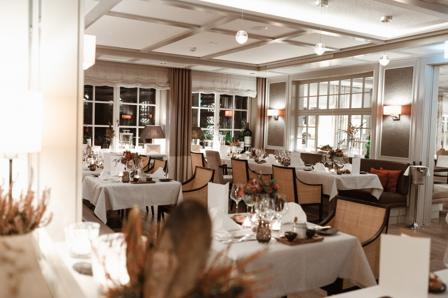Restaurant im Severins Resort und Spa