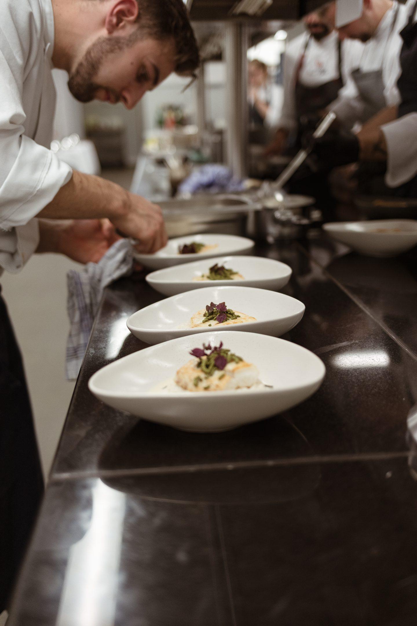 Küche im Severins auf Sylt