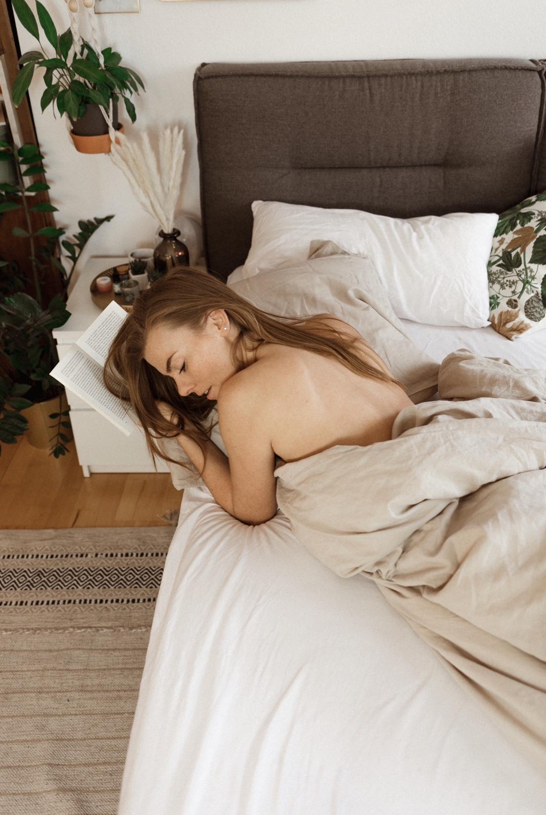 Handgefertigte Bettwäsche