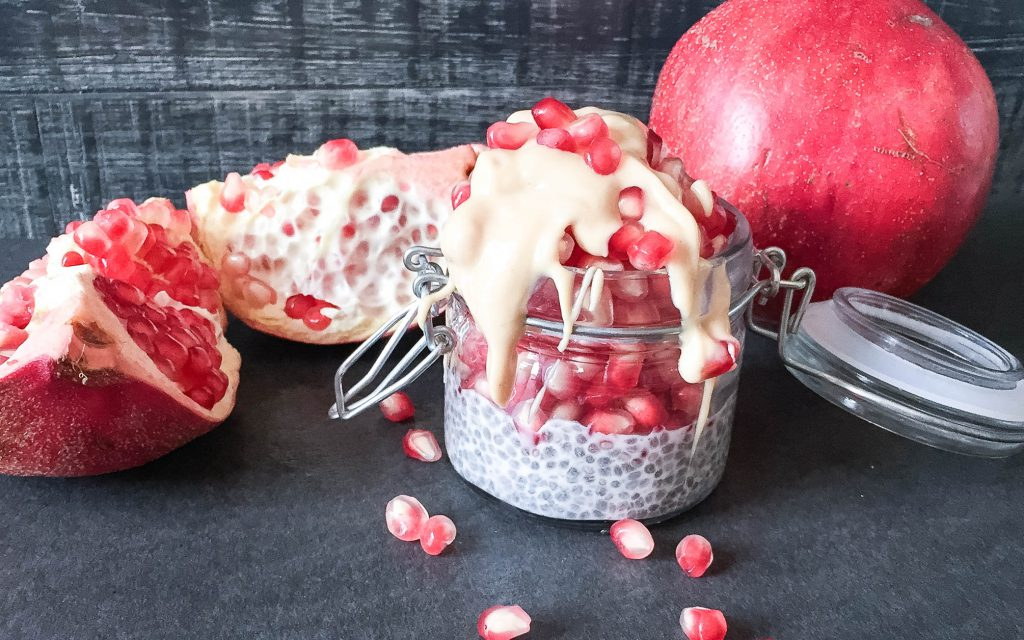 Hello Superfood – Chiapudding mit Granatapfel