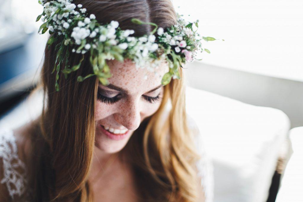Braut Make-Up und Haar Styling